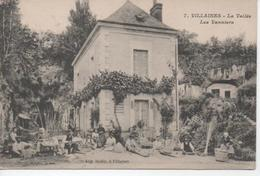 CPA 37 - VILLAINES - LA VALLEE - LES VANNIERS - Artisanat