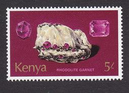 Kenya, Scott #109, Mint Hinged, Rocks, Issued 1977 - Kenya (1963-...)
