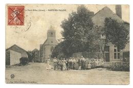 PASSY EN VALOIS Dpt02 Près De La Ferté Milon 1907 Animée Eglise - Autres Communes