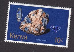 Kenya, Scott #110, Mint Hinged, Rocks, Issued 1977 - Kenya (1963-...)