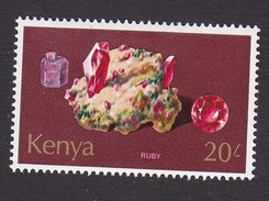 Kenya, Scott #111, Mint Hinged, Rocks, Issued 1977 - Kenya (1963-...)