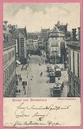 67 - GRUSS Aus STRASSBURG - STRASBOURG - Gewerbslaubenstrasse - Grandes Arcades - Tram - Tramway - Strassenbahn - Strasbourg