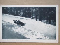 HAUTE SAVOIE  74        CHAMONIX    -   COURSE DE BOBLEIGH    ANIME    TTB - Chamonix-Mont-Blanc