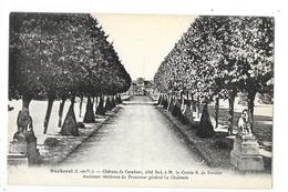 BECHEREL  (cpa 35)  Le Château De CARADEUC  Côté Sud à M.le Comte R.de Kernier  -   - L 1 - Bécherel
