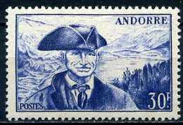 Andorre Français YT 137 XX/MNH