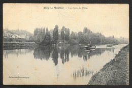 JOUY Le MOUTIER Les Bords De L'Oise Remorqueur Péniches (Demontigny) Val D´Oise (95) - Jouy Le Moutier