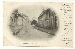 CORBENY Dpt02 La Rue De Craone Carte Nuage De 1904 - Sissonne