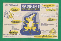 Buvard - RADECIME - Tue Souris Et Rats - Buvards, Protège-cahiers Illustrés