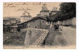 Saint Alban Du Rhône. L'entrée Du Village. (1493) - France