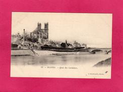 78 YVELINES, MANTES, Quai Des Cordeliers, 1904, (R. Girard) - Mantes La Jolie