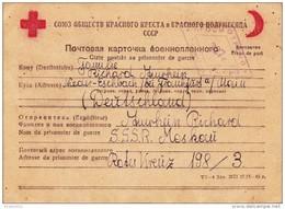 Karte Aus Kriegsgefangenschaft In Russland - War 1939-45