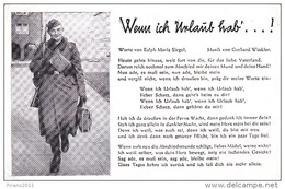 Bildkarte Mit Liedtext - Guerra 1939-45