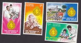 Kenya, Scott #146-149, Mint Hinged, Salvation Army, Issued 1979 - Kenya (1963-...)