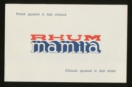 Buvard - RHUM MAMITA - Buvards, Protège-cahiers Illustrés