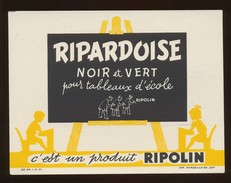 Buvard - RIPARDOISE - Produit RIPOLIN - Buvards, Protège-cahiers Illustrés