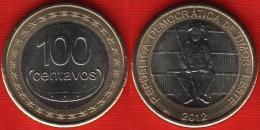 """East Timor 100 Centavos 2012 """"Boaventura De Manufahi"""" BiMetallic UNC - Timor"""