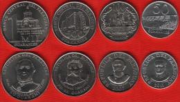 Paraguay Set Of 4 Coins: 50 - 1000 Guaraníes 2007-2011 UNC - Paraguay