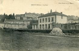 COURS La Gare 1925 - Cours-la-Ville