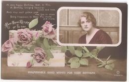 #8 Miss Gladys Cooper - England 1915 - Actress Actrice Artiste Schauspielerin Theatre Star Cinema Kino - POSTCARD AK CPA - Schauspieler