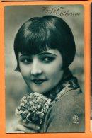 ALB194, Vive Ste Catherine, A. Noyer, 4918, Femme, Circulée 1927 - Sainte-Catherine