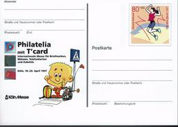 Deutschland 1997 - Postkarte - Köln (Markenbild: Für Den Sport) - Briefmarken