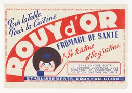Buvard - ROUY D'OR - Fromage De Sante - Buvards, Protège-cahiers Illustrés