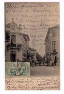 Beaurepaire. Rue Gambetta. Avec Café.( 1498) - Beaurepaire