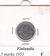 FINLANDIA   5 MARKKAA  1953  COME DA FOTO - Finlandia