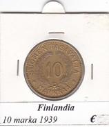 FINLANDIA   10 MARKKAA  1939  COME DA FOTO - Finlandia