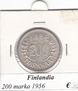 FINLANDIA   200 MARKKAA  1956  COME DA FOTO - Finlandia