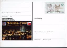 Deutschland 1993 - Postkarte - Köln (Markenbild: Abteien Maria Laach Und Bursfelde) - Klöster