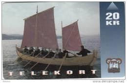 FAROE ISL. - Boats(11), 09/95, Used - Faroe Islands