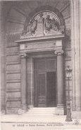 Carte Postale Ancienne Du Nord - Lille - Palais Rameau - Porte Principale - Lille