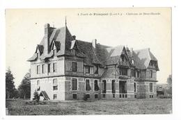 Forêt De PAIMPONT  (cpa 35)   Le Château De Brocéliande -    - L 1 - Paimpont