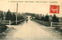 Cpa NIEUL SUR MER 17 Route De La Rochelle - Entrée De Nieul - Other Municipalities