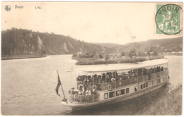 Yvoir - L'Ile - Bateau - 1913 - Yvoir