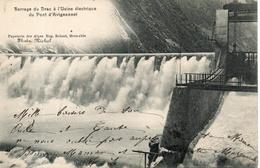 38. Barrage Du Drac à L'usine électrique Du Pont D'avignonnet - France