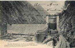 38. Chambre D'eau Et Barrage D'avignonnet - France