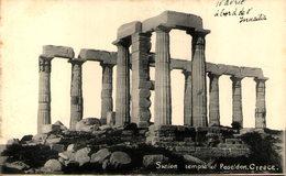 Grèce - Sunion Temple Of Poseidon - Greece