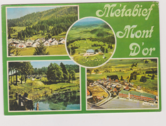 25 Metabief-mont D'or  Station De Sports D'hiver - France