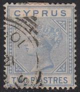 Cyprus 1881 Cancelled, Wmk Crown CC, Sc# , SG 13, Yt 11 - Cyprus (...-1960)