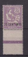 MAROC : N° 24 ** . BDF . LUXE . 1907/10 . - Maroc (1891-1956)