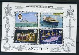 ANGUILLA  ( BLOC )  :  Y&T N°  17  BLOC  NEUF  SANS  TRACE  DE  CHARNIERE , A  VOIR . - Anguilla (1968-...)