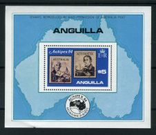 ANGUILLA  ( BLOC )  :  Y&T N°  56  BLOC  NEUF  SANS  TRACE  DE  CHARNIERE , A  VOIR . - Anguilla (1968-...)