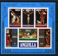 ANGUILLA  ( BLOC )  :  Y&T N°  8  BLOC  NEUF  SANS  TRACE  DE  CHARNIERE , A  VOIR . - Anguilla (1968-...)
