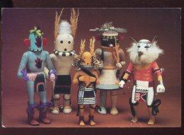CPM Etats Unis PHOENIX Muséum Hopi Katsina Dolls - Phoenix