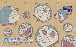 Rare Carte Prépayée Japon - BD COMICS MANGA - CHAT DORAEMON - CAT Japan Prepaid Tosho Card - KATZE - 3980 - BD