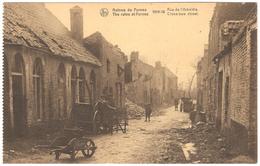 Veurne - Ruins / Ruines De Furnes - 1914-18 - Rue De L'Arbalète / Cross-bow Street - Geanimeerd / Animated - Veurne