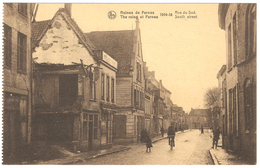 Veurne - Ruins / Ruines De Furnes - 1914-18 - Rue Du Sud / South Street - Geanimeerd / Animated - Veurne