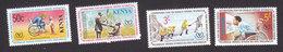 Kenya, Scott #181-184, Mint Hinged, Int'l Year Of Disabled, Issued 1981 - Kenya (1963-...)